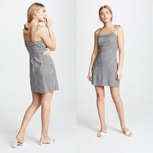 Cupcakes and Cashmere Checkered Dress - Blk/Wht